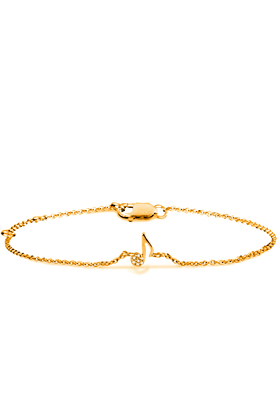 SPARKLESHis & Her Diamond Bracelets In Gold And Real Diamond - 0.01 Cts - 200604032