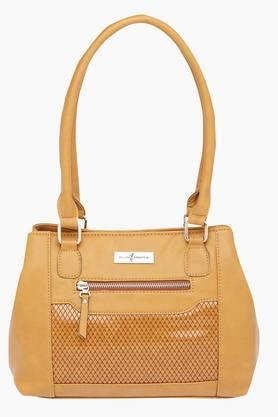 ELLIZA DONATEINWomens Zipper Closure Shoulder Bag