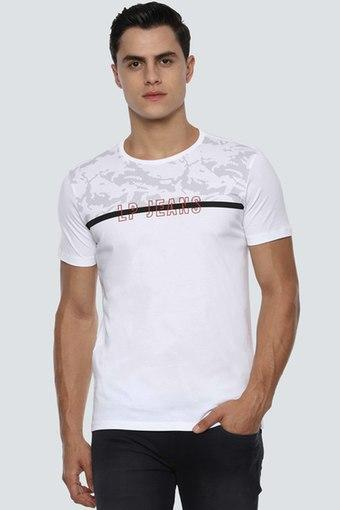 LOUIS PHILIPPE JEANS -  WhiteT-Shirts & Polos - Main