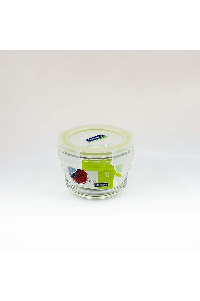 classic airtight break resistant glass food container lunch box microwave safe 165 ml
