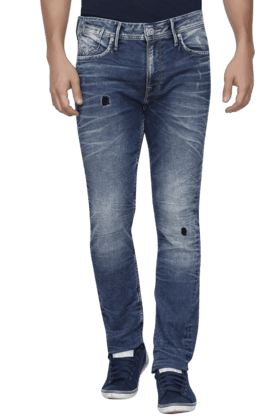 JACK AND JONES Mens 5 Pocket Stretch Jeans - 200763473