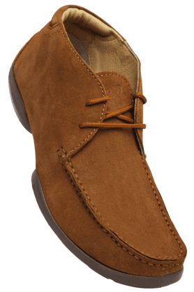 WOODLAND Mens Leather Slipon Casual Shoe
