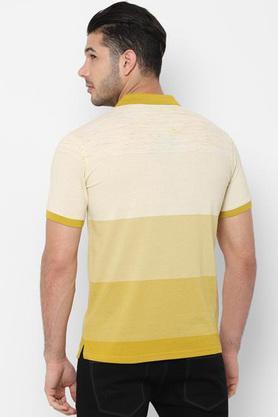 ALLEN SOLLY - MustardT-Shirts & Polos - 1