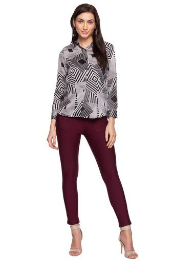 RS BY ROCKY STAR -  Wine Jeans & Leggings - Main