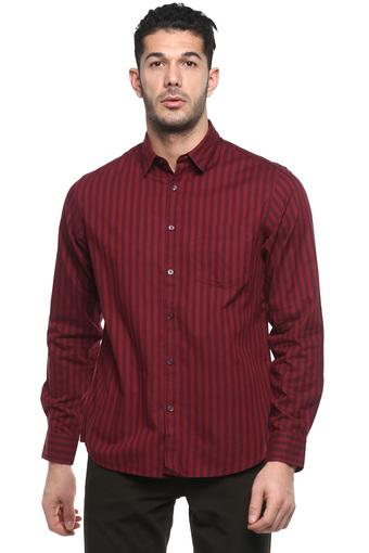 INDIAN TERRAIN -  BurgundyCasual Shirts - Main