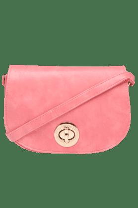 HAUTE CURRYWomens Semi Turn Around Sling Bag