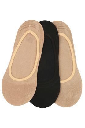Womens Slub Knitted Socks Pack of 3