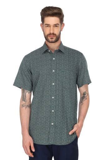 COLOR PLUS -  Dark GreenShirts - Main