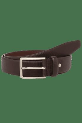 STOPMens Single Side Leather Casual Belt