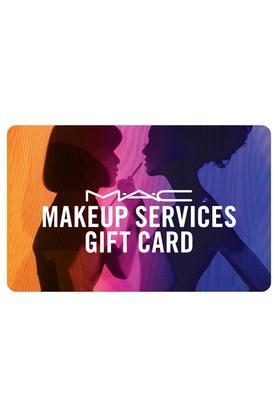 Makeup service card -Mac Technique