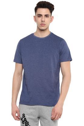 STOP - Blue MelangeT-Shirts & Polos - 16