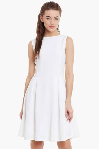 MISS CHASE -  Off White Dresses - Main