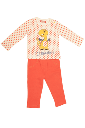NAUTI NATI Girls Cotton Coordinate Set