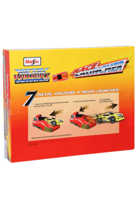 Boys Launcher with 7 Toy Cars