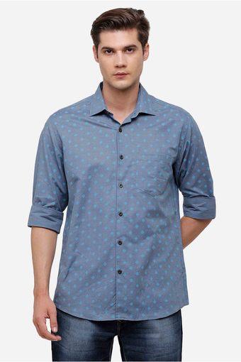 LINEN CLUB -  BlueFormal Shirts - Main