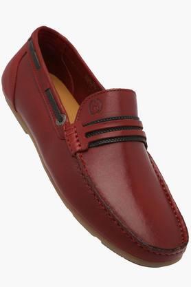 ALBERTO TORRESIMens Leather Slip On Loafers