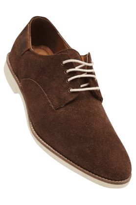 RED TAPEMens Canvas Lace Up Casual Shoe