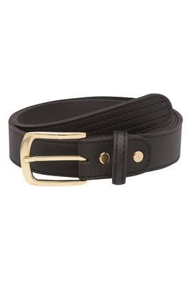 Womens Buckle Closure Formal Belt