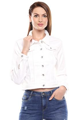 KRAUS - White Casual Jackets - Main