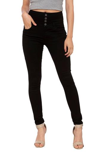 ONLY -  BlackTrousers & Pants - Main