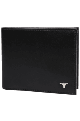 BULCHEEMens 1 Fold Leather Wallet