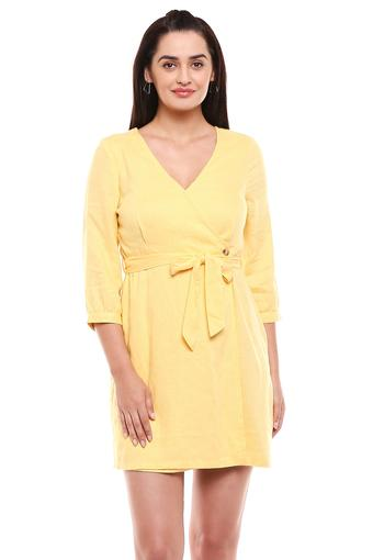 VERO MODA -  Yellow Dresses - Main