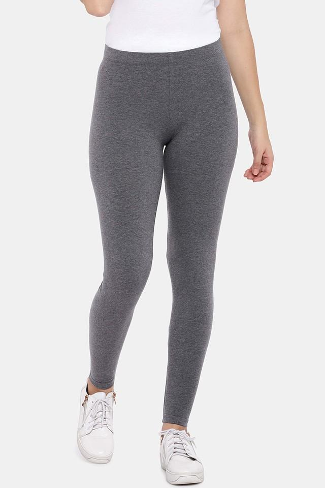 COTTONWORLD - Charcoal Leggings - Main