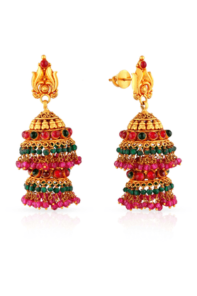 MALABAR GOLD AND DIAMONDS Womens Malabar Gold Earrings - 201593906
