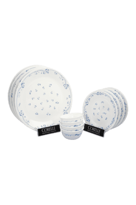 CORELLE Dinner Set (Set Of 12) - Provincial Blue