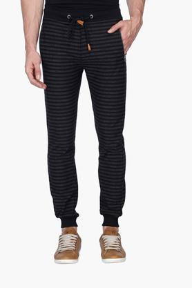 STATUS QUOMens Stripe Casual Track Pants
