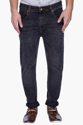UNITED COLORS OF BENETTON Mens Carrot Fit Mild Wash Jeans