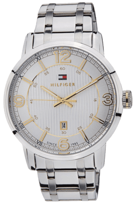 TOMMY HILFIGER White Dial Chronograph Men's Watch - TH1710344J
