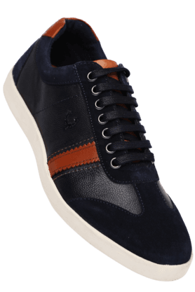 ALLEN SOLLYMens Lace Up Casual Shoe