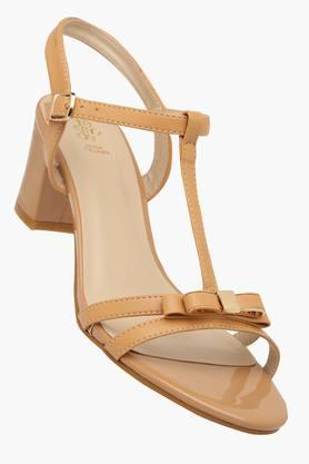 TRESMODE Womens Casual Wear Buckle Closure Heel Sandals  ...