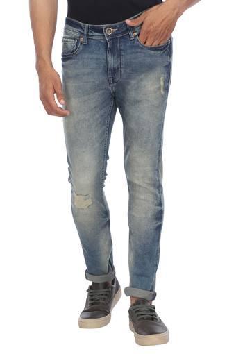 BEING HUMAN -  Grey ToneJeans - Main