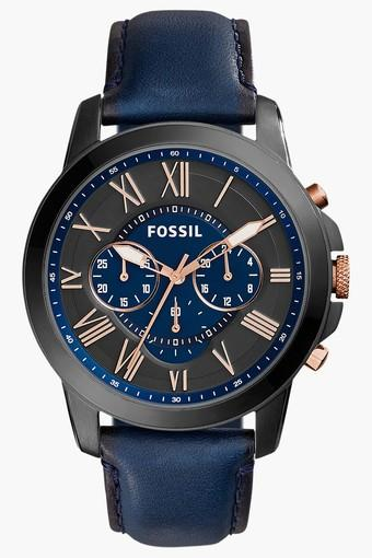 Mens Chronograph Leather Watch - FS5061I