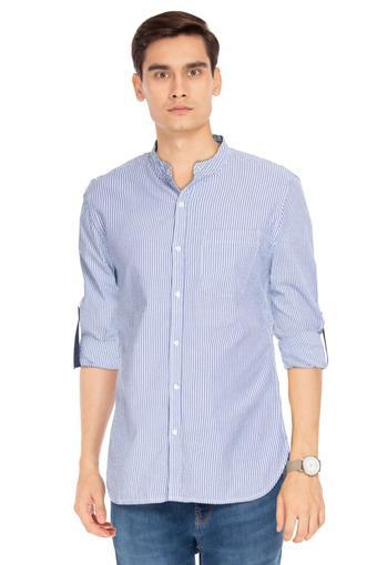LIFE -  Blue Casual Shirts - Main