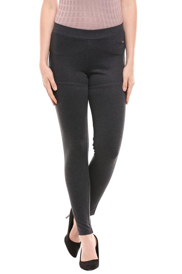 ALLEN SOLLY - BlackTrousers & Pants - Main
