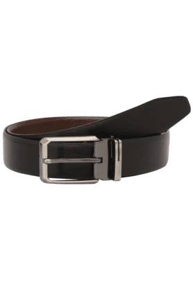 STOP Mens Leather Reversible Formal Belt