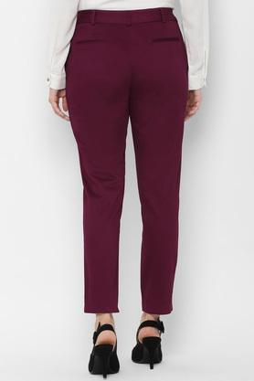 ALLEN SOLLY - Pink Trousers & Pants - 1