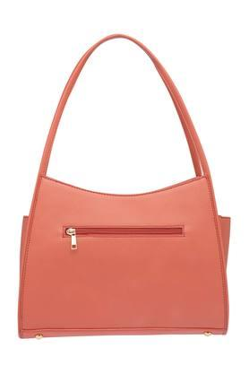 Womens Zip Closure Hobo Handbag