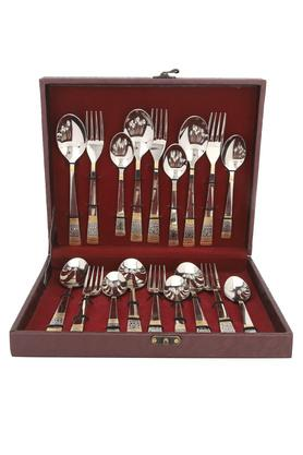Glam Fork and Spoon Cutlery Set of 18