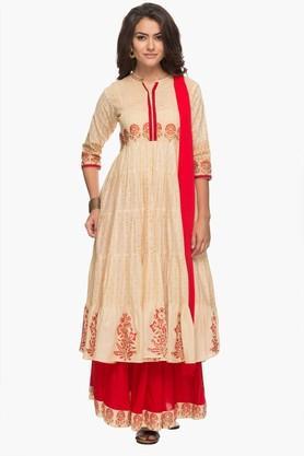KASHISHWomens Printed Kurta, Skirt And Dupatta Set