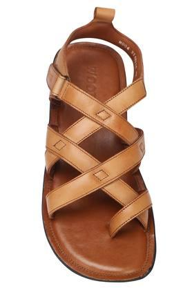 WOODLAND - TanSandals & Floaters - 2
