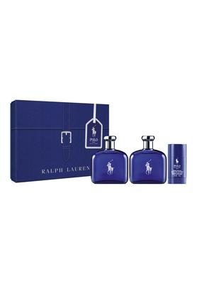 Unisex Polo Blue EDT, After Shave & Deodorant Stick Set