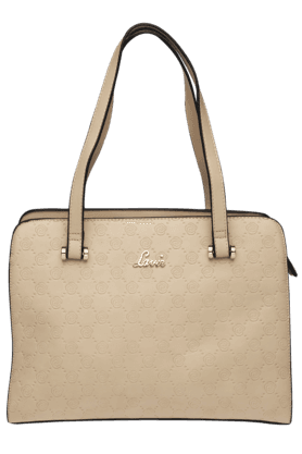 LAVIEWomens Parthena Leather Medium Tote Handbag (Use Code FB20 To Get 20% Off On Purchase Of Rs.1800)