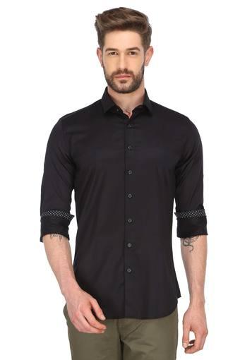 VDOT -  Black Formal Shirts - Main