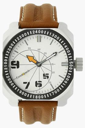 FASTRACKMens Commando Silver-White Dial Analog Watch