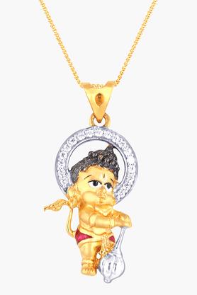 MALABAR GOLD AND DIAMONDSWomens 22 KT Gold Pendant - 201203717