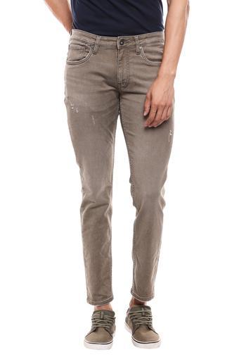 JACK AND JONES -  BrownJeans - Main